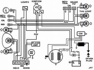 Honda Super Cub 50 Wiring Diagram