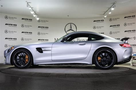 Mercedes outfits it with a lot of standard features, as it should at these prices, and offers a lot options to make it more comfortable and improve performance. New 2019 Mercedes-Benz AMG GT AMG GT R 2dr Car in Edmonton #19GT4381 | Mercedes-Benz Heritage Valley