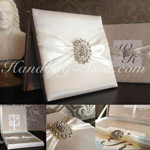 high end hinged lid boxed wedding invitation with large With luxury wedding invitations with crystals