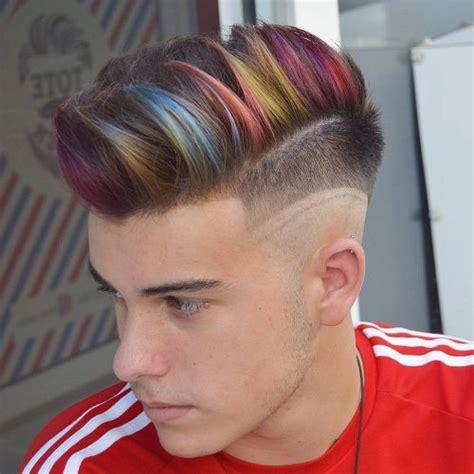 coolest mens hair color ideas