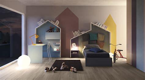 chambre ville chambre enfant déco de mur colorée facile et bluffante