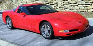 2000 Corvette Coupe--one Owner  Torch Red