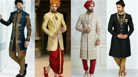 Wedding Dresses For Men : Latest Indian Traditional Wedding Dresses For Men 2017