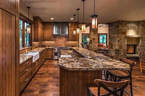 35 Beautiful Rustic Kitchens (design Ideas)  Designing Idea