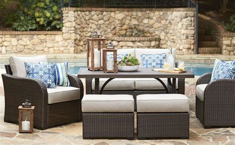 patio furniture lowes shop patio furniture dining collections at lowe s