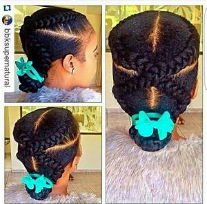 I Love This Quick And Easy Naturalhair Hairstyle Created
