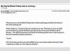 Promotional Emails, Examples, Ideas and Best Practices