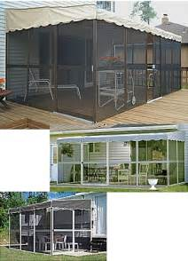 patio mate screen room mobile home advantage