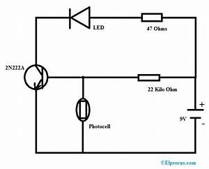 Photocell  Circuit Diagram  Working  Types And Its