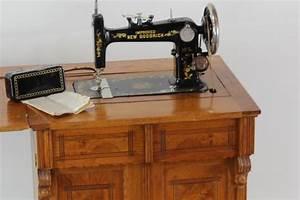 New Goodrich treadle sewing machine