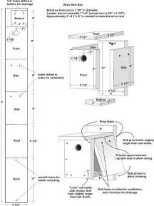 blueprints to build a house free wren house plans easy diy project