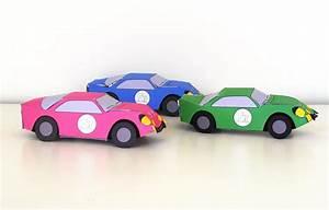 Papier Pour Vendre Voiture : voitures imprimer bricolage pour enfant activit manuelle ~ Gottalentnigeria.com Avis de Voitures