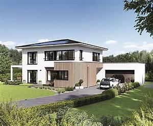 Haus Walmdach Modern : weberhaus pr sentiert moderne stadtvilla in g nzburg ein service von ~ Indierocktalk.com Haus und Dekorationen