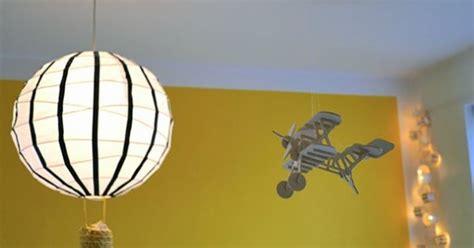 papieren bollamp luchtballon verlichting pinterest