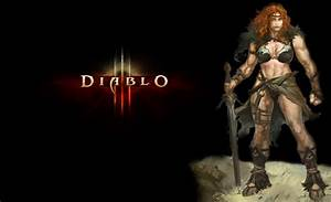 Diablo III Wallpaper #105: Female Barbs and Class Crests ...