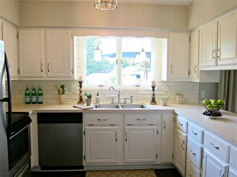 white cabinets with beige countertop kitchen white cabinets beige countertop grey green paint