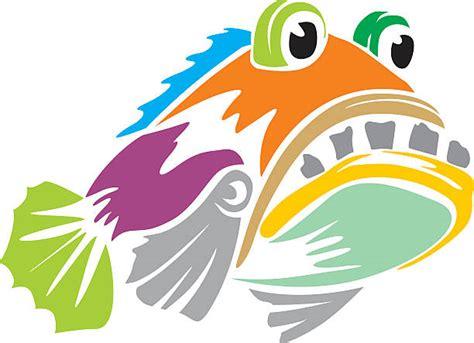grouper fish vector clip illustrations clipart colors cartoons royalty graphics fishing vectors