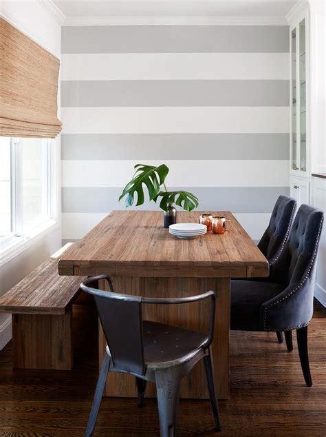 Navy Velvet Tufted Dining Cahirs  Contemporary  Dining Room