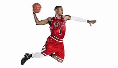 Basketball Jordan Nba Michael Derrick Background Rose