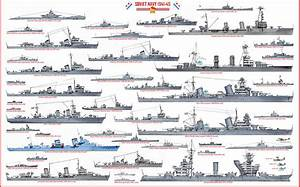 Ww2 Soviet Navy Drawing By The Collectioner