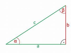 Rechten Winkel Berechnen : trigonometry calculations on rectangular and the general triangle ~ A.2002-acura-tl-radio.info Haus und Dekorationen