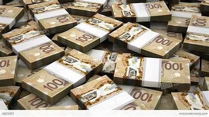 Money Dollar Canadian Stacks Million Stack Cash