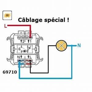Cablage Bouton Poussoir : interrupteur t moin plexo complet elecproshop ~ Nature-et-papiers.com Idées de Décoration