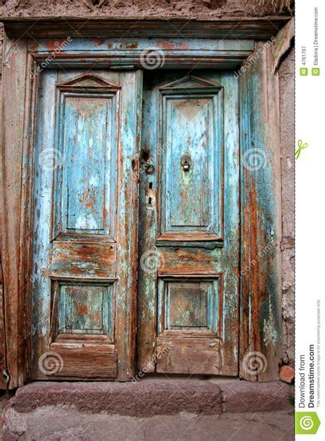 vintage doors for antique door stock image image of deteriorated door