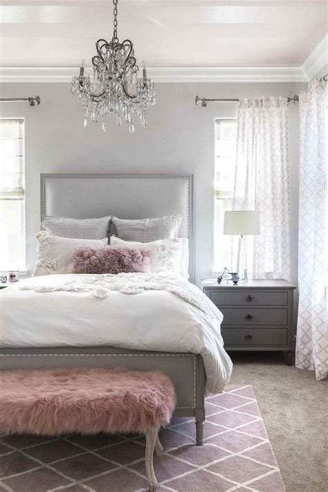 gray white and pink bedroom stunning gray white amp pink color palette home do over 18822 | 9191c845235bd5638768e04f81a2a522