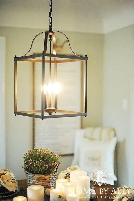 lowes allen roth light fixture farmhouse fall home