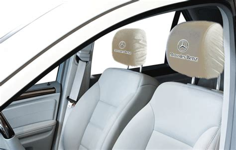 mercedes benz headrest covers headrest covers
