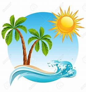 Tropical clipart tropical climate - Pencil and in color ...