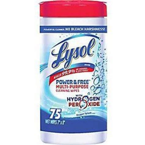 Lysol® Hydrogen Peroxide Cleaning Wipes
