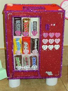 Valentine bag/box candy vending machine … | Kid Fun | Diy v…