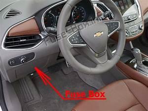 Fuse Box Diagram Chevrolet Malibu  2016
