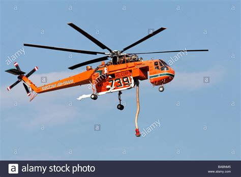 Sikorsky S 64 Erickson Air Crane Fire Fighting Helicopter ...