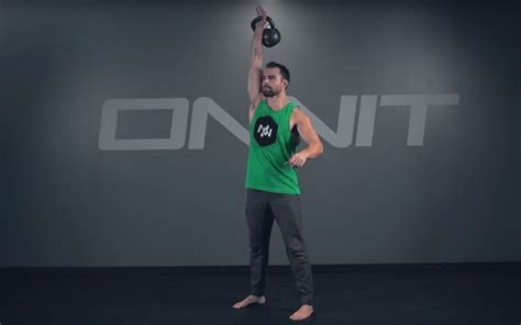 kettlebell workout core swing