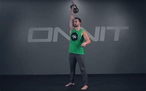 kettlebell workout core swing