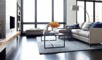 Dexter Floor Lamp Crate And Barrel by Sofas And Coffee Tables On Pinterest Sectional Sofas