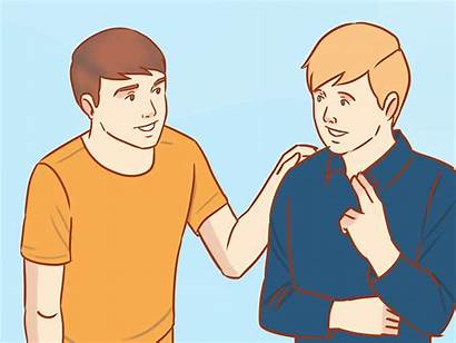 Friend Apologize Guy Wikihow Scusa Step