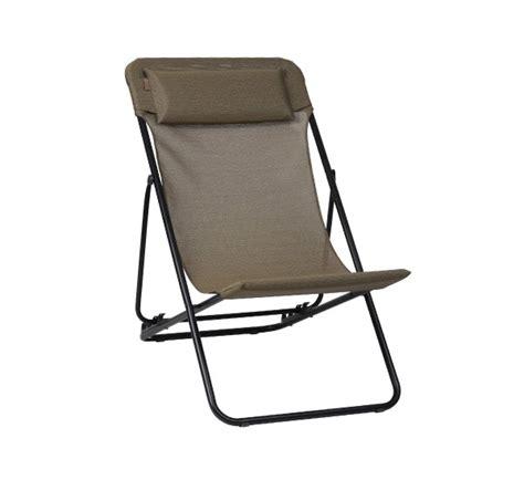 lafuma maxi transat plus chaise longue mohd shop