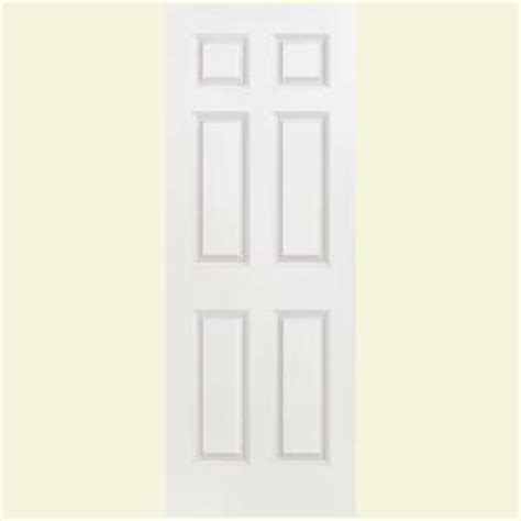 home depot hollow interior doors masonite smooth 6 panel hollow primed composite