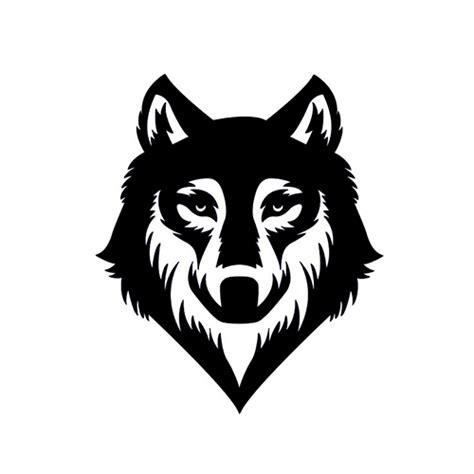 jeep matte white wolf die cut vinyl decal pv998