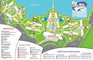 Mapas De Los Resorts De Disneyworld Orlando Viaje Disney