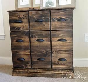 Ikea Tarva Kommode : ikea tarva dresser to pottery barn apothecary cabinet ~ Orissabook.com Haus und Dekorationen
