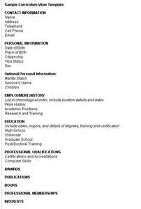 Curriculum Vitae Format Ne Shqip Example Good Resume Template