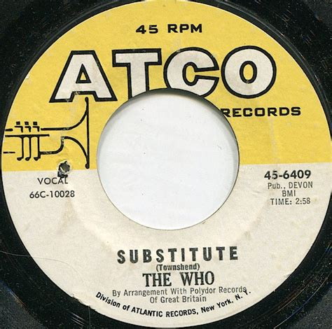 The Who - Substitute (1966, Vinyl)   Discogs