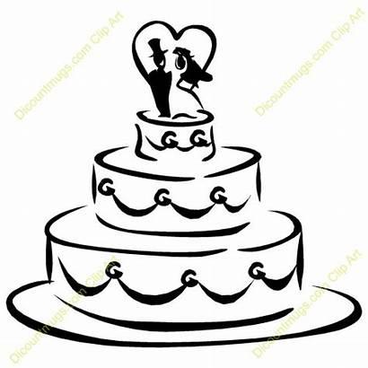 Cake Clipart Cakes Clip Shower Money Cartoon