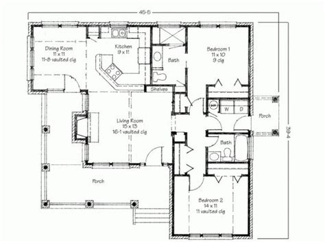 simple  bedrooms house plans  small home contemporary  bedroom house plans  porch