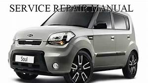 Kia Soul 2009 2010 2011 Repair Manual